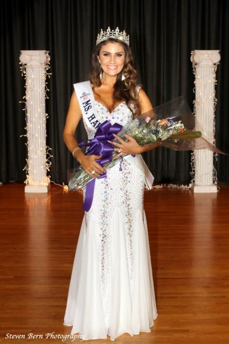 Ms. Flecha Tovar of Kihei, Maui, HI, won the State title of Ms. Hawaii America 2015 over the memorial day weekend at a pageant held at the Blaisdell Center in Oahu, HI, on May 31. She will compete for the national Ms. America title on August 29th in Brea, California. Photo credit Steven Bern Photography.
