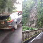 PHOTOS: Motorists Escape Injury in Hāna Highway Landslide