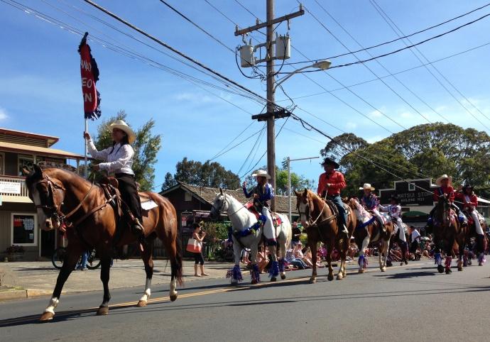 Makawao Fourth of July Parade, 2014. Debra Lordan photo.