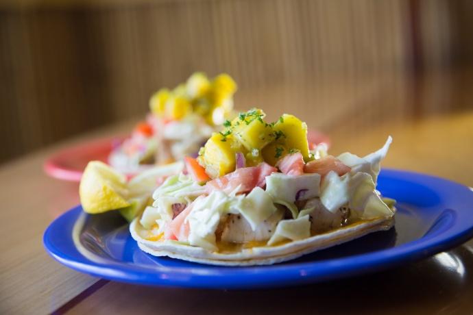 Coconut's fish taco. Courtesy photo.