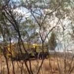 VIDEO: Brush Fire Burns One Acre Mauka of Lahaina Aquatic Center