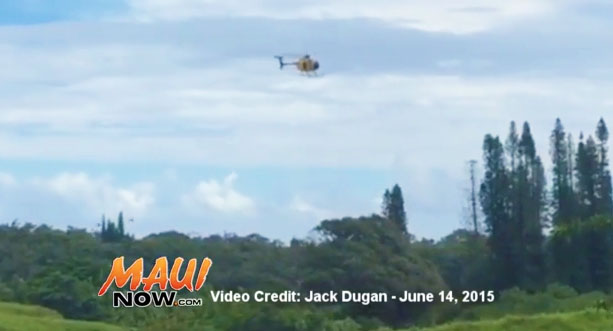 """Rescue in Kailua near the spot often referred to as the """"Bamboo Trail."""" Image credit: Jack Dugan."""
