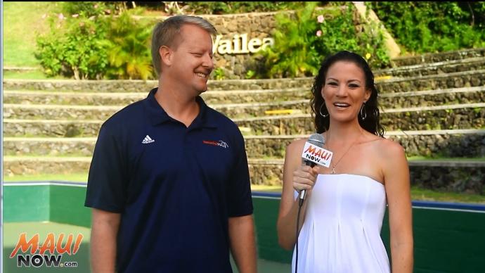 Malika Dudley interviews Ben Prangnell, Founder and President of BasketballMAUI.