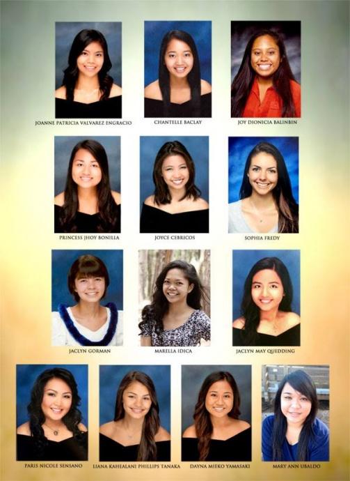 2015 Gintong Pamana Scholarship recipients. Courtesy image.
