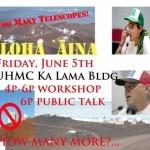 """""""Aloha ʻĀina - Haleakalā to Mauna a Wākea"""" Event at UHMC"""