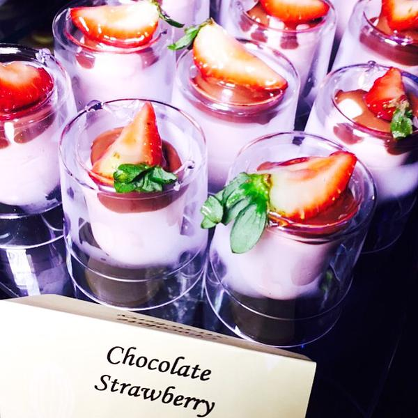 Strawberry chocolate at the 2015 Taste of Chocolate event. Photo by Malika Dudley.