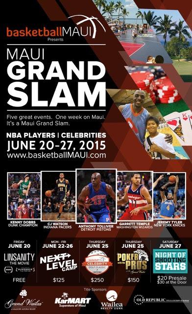 BasketballMAUI event flyer.