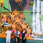 Ancient Hawaiian Festival Depicted on UH Maui College Mural
