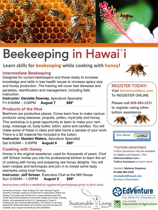 Beekeeping_Flyer AUGUST 2015