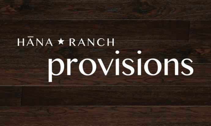 Photo credit: Hāna Ranch