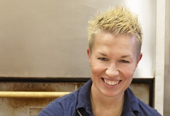 Celebrity chef and event judge Elizabeth Falkner. Courtesy image.