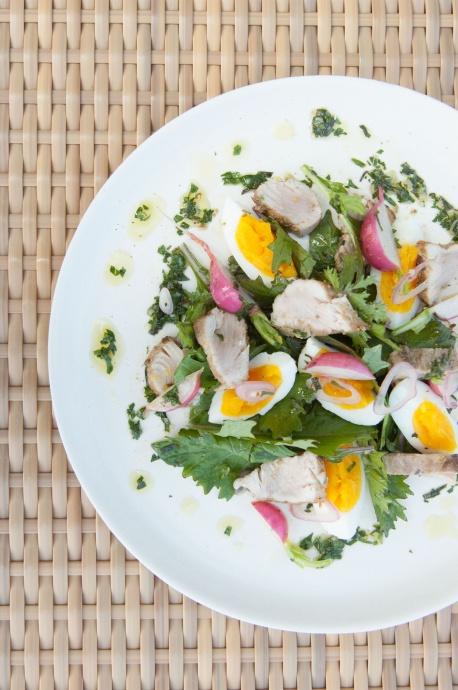 Fennel Crusted Tuna Salad