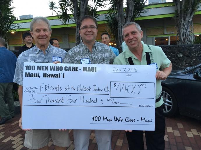 100 Men Who Care, Maui. Courtesy photo.