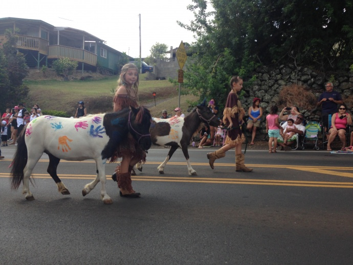 50th Annual Makawao Fourth of July Paniolo Parade. Photo: Debra Lordan