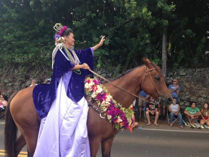 50th Annual Makawao Fourth of July Paniolo Parade. Photo: Debra Lordan