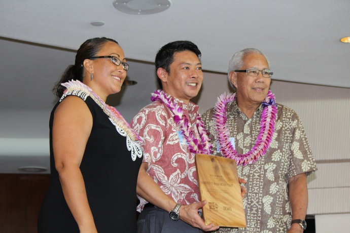 Marriott's Maui Ocean Club was honored with the Hotel of the Year award at the 46th Annual MUW Meeting and Recognition Luncheon. Photo by Wendy Osher. (July 2, 2015)