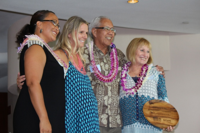The Bendon Family Foundation was honored with a Foundation of the Year award at the 46th Annual MUW Meeting and Recognition Luncheon. Photo by Wendy Osher. (July 2, 2015)