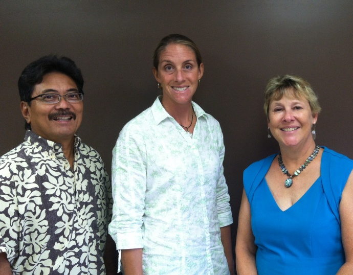 New NPAC board members (left to right) Randy Yamanuha, Cecilia Potts and Cynthia Reeves. Courtesy photo.