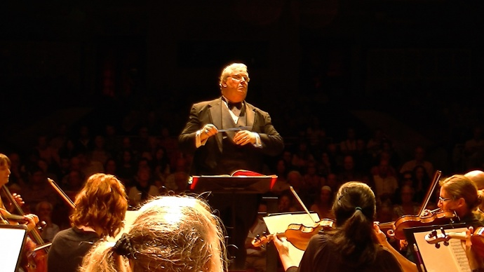 Maestro Robert E. Wills will conduct a 120-member combined chorus with the Maui Chamber Orchestra and four soloists in the Maui premiere of Mozart's Great Mass in C minor on Aug. 2 at 3 p.m. in the Maui Arts and Cultural Center's Castle Theater. Photo by Sun Dancer.