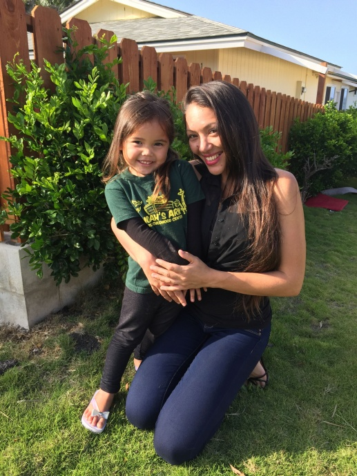 A former Malama Family Recover Center client and her daughter. Malama Family Recover Center photo.