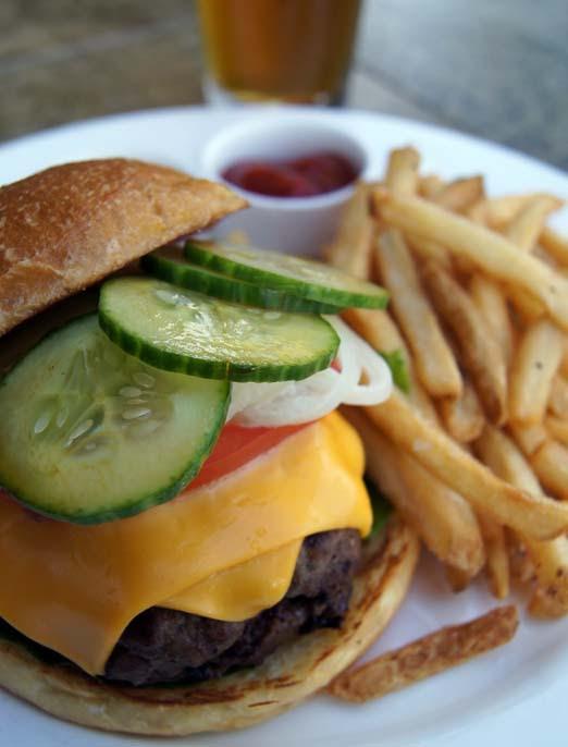 Tommy Bahama's All-American Burger. Courtesy photo.