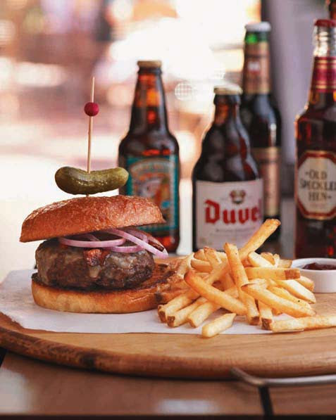 Tommy Bahama's Smokehouse Burger. Courtesy photo.