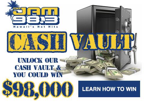 "Da Jam 98.3 FM ""Cash Vault"""