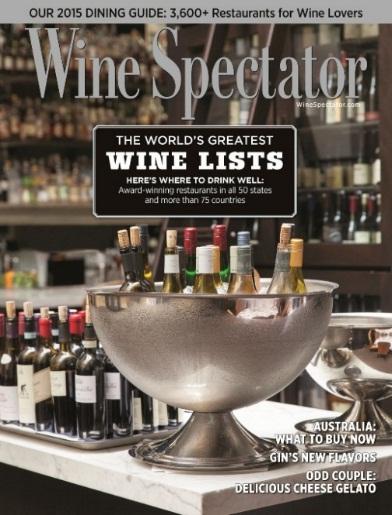Wine Spectator. Courtesy photo.