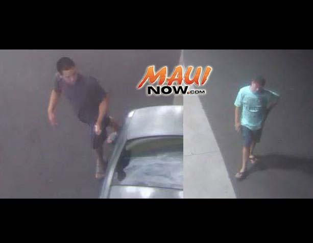 surveillance photos courtesy: Maui Police Department.