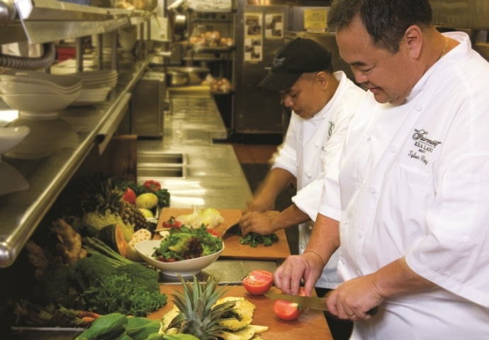 Chef Tylun. Photo Credit: Fairmont Kea Lani, Maui.