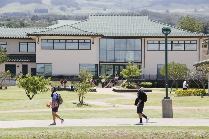 Kamehameha Schools Maui - Pukalani campus. Courtesy photo.