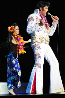 Elvis impersonator Darren Lee of Burn'n Love is one of the performers on tap for the entertainment lineup. Courtesy photo.