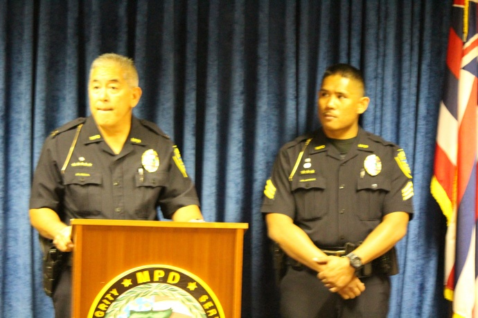 MPD Press Conference. (8/7/15)  Photos by Wendy Osher.