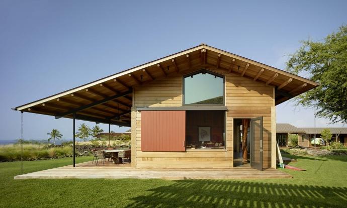 Kahua Kuili (Kailua-Kona, Hawai'i Island). Architect Gregory Warner, AIA. Walker Warner Architects.