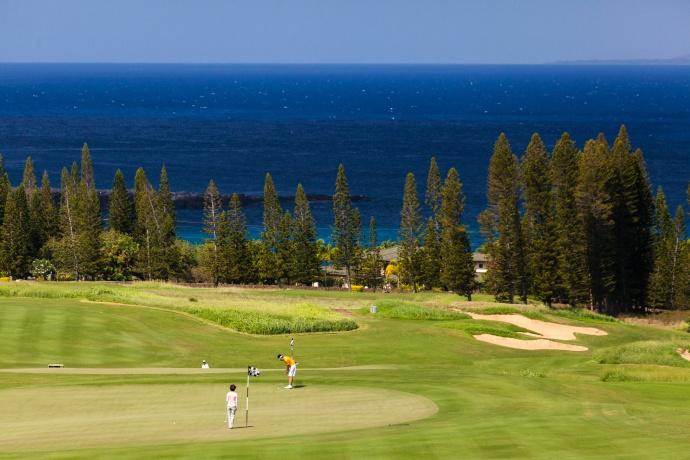 Kapalua Golf. Photo credit: Dave Tonnes/Panaviz Photography.