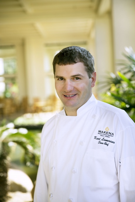 Makena Beach & Golf Resort's new Executive Chef, Kurt Lesmerises