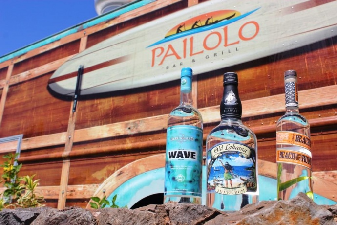 Pailolo Rum Flight. Photo credit: The Westin Kā'anapali Ocean Resort Villas.