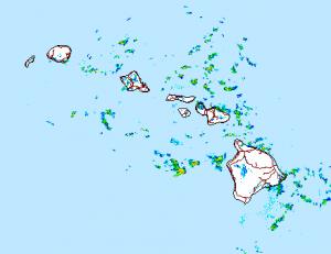 Image: NWS radar 5 a.m. August 5, 2015
