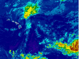 NWS Satellite Guillermo and Hilda / August 6, 2015