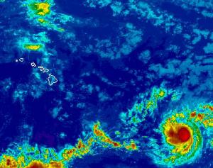 Image: NWS Satellite Hilda 11 a.m.