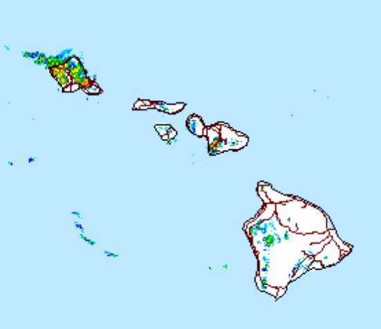 Image: NWS radar at 3:20 p.m.