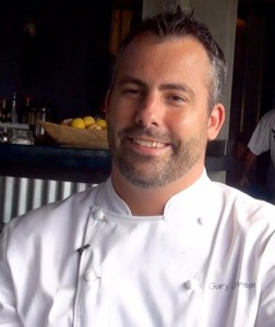 Chef Gary Johnson at Joe's Nuevo Latino. Photo by Kiaora Bohlool.