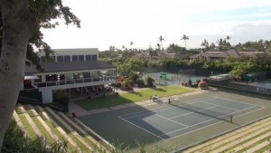 Joe's Nuevo Latino, overlooking tennis courts on Wailea Ike Place. Photo by Kiaora Bohlool.