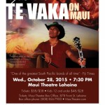Te Vaka Returns to Maui on Oct. 28