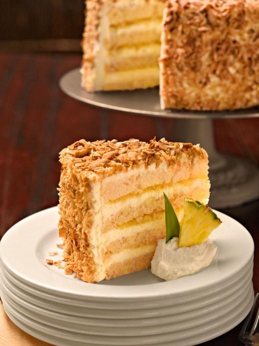 Pina Colada Cake. Photo credit: Tommy Bahama.
