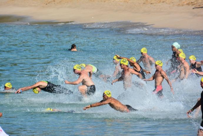 TriLāna'i Triathlon.Courtesy photo.