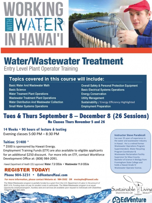 Wastewater Training_Sept 2015