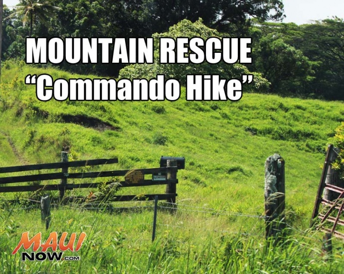 "Hiker Airlifted, Suffered From Heat Exhaustion at ""Commando Trail"""