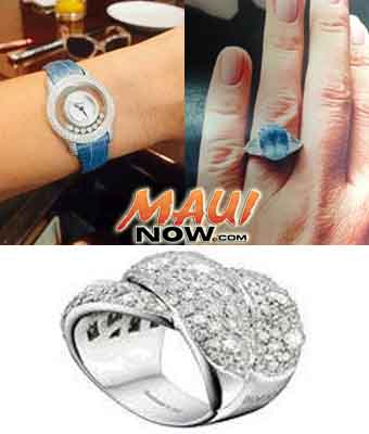 Image of stolen ring. Crime Stoppers Maui Image.