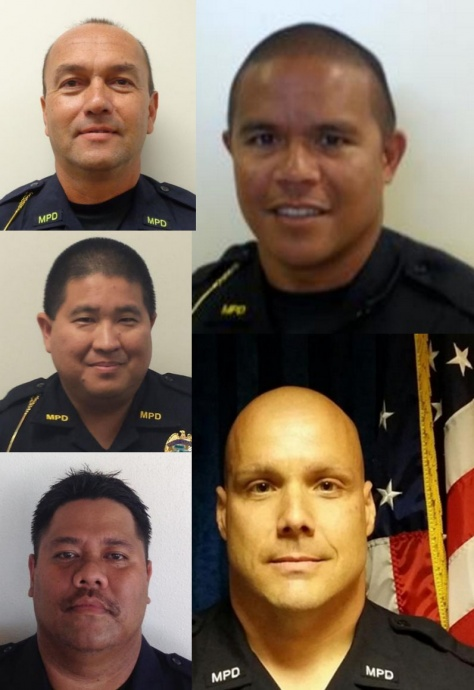 Maui Police Department promotions, effective June 16, 2015.